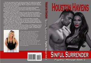 A Sinful Surrender Print Cover - Image only