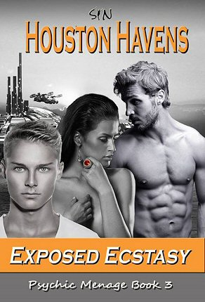 resizeExposed Ecstasy (Psychic Menage #3) by Houston Havens